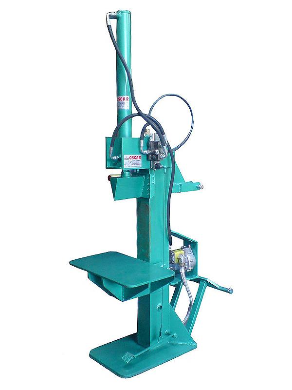 Press cutting wood